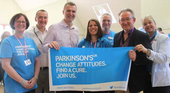 Big support for Living With Parkinson's Oxted event
